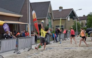 Beach volleybal Oudemirdum
