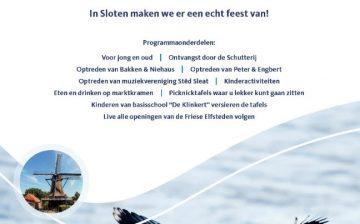 Uitnodiging: opening Kievitfontein Sloten