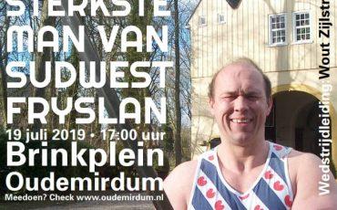 De sterkste man van Súdwest Fryslân!